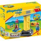 Playmobil Gru con operaio 1.2.3