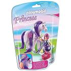 Principessa Violetta con pony dalla lunga chioma (6167)