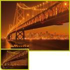 San Francisco - 1000 pezzi Fluorescenti (39175)