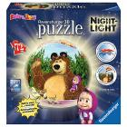 Masha e Orso Puzzleball Night Light (12179)