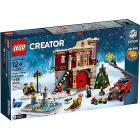 Caserma dei pompieri del villaggio invernale - Lego Creator Expert (10263)
