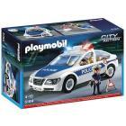 Auto della Polizia con luce (5184)