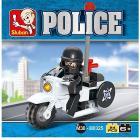 Moto Della Polizia 24 Pz