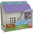 Peppa Pig Scuola Legno con 2 personaggi (PPC67000)