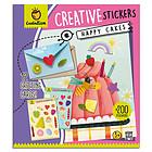 Happy cakes. Creative stickers (8193)