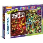 Ninja Turtles 3 x 48 pezzi