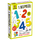 Numeri. Carte Montessori. Giochi di carte (81981)