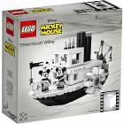 Barca Topolino Steamboat Willie - Lego Ideas (21317)