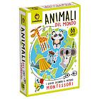 Animali. Carte Montessori. Giochi di carte (8199)