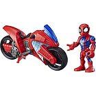 Spider-Man moto Swingin Speeder Playskool Heroes