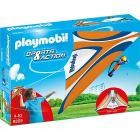 Deltaplano Arancio Con Pilota (9205)