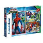 Puzzle 3X48 pezzi Spider-Man 25217