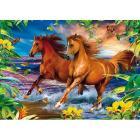 Horses in the Surf 1000 pezzi Magic Puzzle 3D (39222)