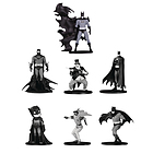 Batman Black & White Mini Fig 7 Pk Set(4)