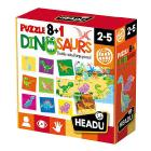 Puzzle 8+1 Dinosaurs (IT22243)