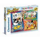 Puzzle 3X48 pezzi Ducktales 25226