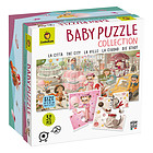 The city. Baby puzzle collection (8226)