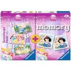 Memory + 3 puzzle Disney Princess