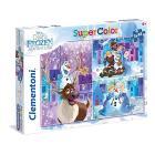 Puzzle 3X48 pezzi Frozen 25228