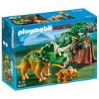 Esploratore e Triceratopo con cucciolo (5234)