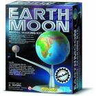 Kit costruzione Terra e Luna fosforescente (03241)