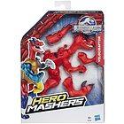 Dinosauro Velociraptor Jurassic Hero Mashers Basic (M28G85)