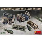 German Rockets 28cm Wk Spr & 32cm Wk Flamm Scala 1/35 (MA35316)