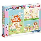 Puzzle 3x48 Hello Kitty (25246)