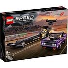 Mopar Dodge Challeger 1970 Full Dragster - Lego Speed Champions (76904)