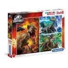 Puzzle 3X48 Pz - Jurassic World