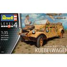 Veicolo German Staff Car Type 82 KUEBEL Belwagen 1/35 (RV03253)