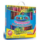40 pennarelli Carioca jumbo (41257)