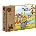 Disney Winnie The Pooh-24 pezzi-materiali 100% riciclati Play For Future- (20259)