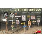 Allied Road Signs Wwii Europe Scala 1/35 (MA35608)