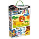 Baby Puzzle + Flash Cards Animali (72675)