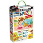 Baby Puzzle + Flash Cards (72682)