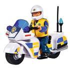 Vigile Del Fuoco Sam Moto Polizia Con Figura