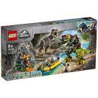 Battaglia tra T. rex e Dino-Mech - Lego Jurassic World (75938)