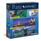 Puzzle Mania Kit 2x1000 Panorama Accessori per Puzzle (39277)