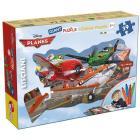 Planes Puzzle Color Plus Gigante Sagomato, 39 Pezzi (42784)