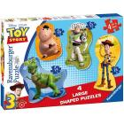 Toy Story - Shaped Puzzle