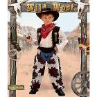 Costume Cow Boy Rodeo 4-5 anni