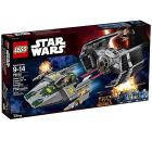 TIE Advanced di Vader contro A-Wing Star - Lego Star Wars (75150)