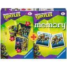 Memory + 3 puzzle Ninja Turtles