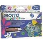 5 Giotto Decor Colori Metallizzati