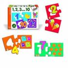 Puzzle Numeri 1,2,3...10 (63301)