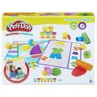 Play-Doh Texture e attrezzi. Modella e impara