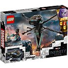 Black Panther Dragon Flyer Infinyty Avengers - Lego Super Heroes (76186)