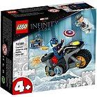 Capitan America contro Hydra Infinyty Avengers - Lego Super Heroes (76189)