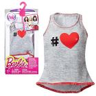T-shirt cuore Barbie Look Fashion(DMB36)